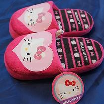 Hello Kitty Bedroom Slippers Brand New Photo