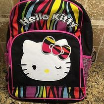 Hello Kitty Book Bag Backpack Large Photo