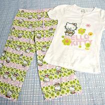 Hello Kitty by Sanrio 2 Piece Pajamas Girls Size L Photo
