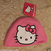Hello Kitty Cap Infant Baby Girl Infant Skull Cap Hat Photo