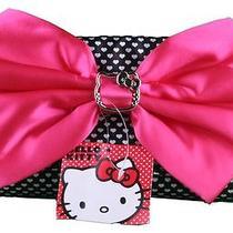 Hello Kitty Clutches Black Clutch Evening Purse Photo