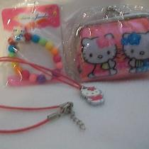 Hello Kitty Coin Purse With Bracelet and Necklace Usa Faster Photo