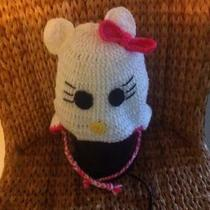 Hello Kitty Crochet Hat Photo