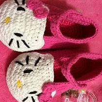 Hello Kitty  Crochet Shoe Photo