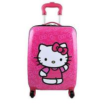 Hello Kitty Deluxe Hardshell Rolling Luggage Case Spinner Photo