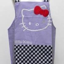 Hello Kitty Face H Type Character Apron Sanrio Purple 41203 R224 0258 Photo