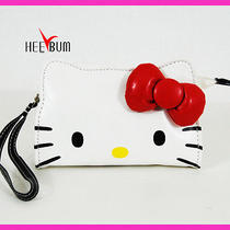 Hello Kitty Face Wallet & Pouch Coin Bag  Cosmetic Case Photo