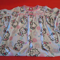 Hello Kitty Flannel Sleepwear Gown Little Girl's Size T4 New W Tag Fun Gift Photo