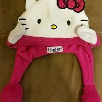 Hello Kitty Flipeez One Size Action Hat Beanie Photo