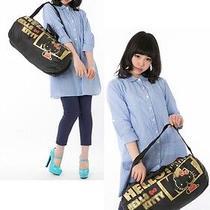 Hello Kitty Folding Pocketable Drum Bag Handbag Pouch Sanrio From Japan R1501 Photo