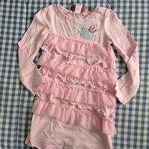 Hello Kitty From Macy' Girls Pink Ruffle Dress Size 5 Photo