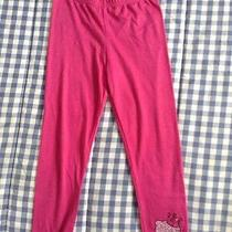 Hello Kitty From Macy's Girls Pink Leggings Size 6 Photo