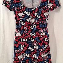 Hello Kitty ..girl Youth ...extra Small Short Sleeve  Dress Photo