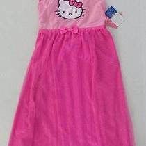Hello Kitty Girls 6 6x Pajamas Nightgown Pjs Dress Nightie Photo
