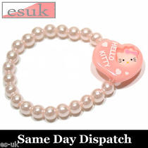 Hello Kitty Girls Elastic Bracelets / Wristband Pink Photo