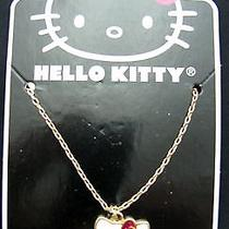 Hello Kitty Girls Fashion Necklace White and Pink Photo