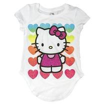 Hello Kitty Girls' Hearts Tee Photo