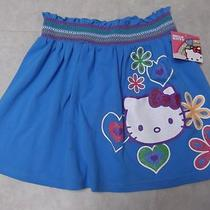 Hello Kitty Girls Large Aqua Skirt Photo