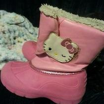 Hello Kitty Girls Size 12 Snow Boots  Photo