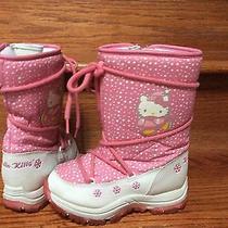 Hello Kitty Girls Snow Boots Size 12 Photo