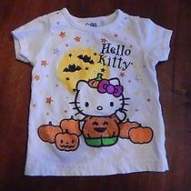Hello Kitty Halloween Jack O Lantern Girls Size 18 Mos S/s Shirt Photo