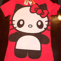 Hello Kitty It's a Panda Thing Red T Shirt From Hot Topic Size l(large) Nwt Photo
