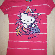 Hello Kitty Junk Food Gap Kids Pink Rock Star Girls Large Photo