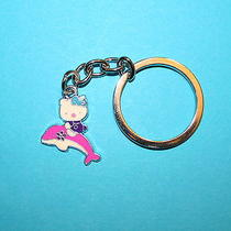 Hello Kitty Key Ring Chain Bag Tag Party Favor Backpack Pink Dolphin Nqr Photo