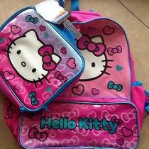 Hello Kitty Large Backpack & Lunch Box Set 16