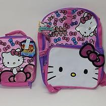 Hello Kitty Large Backpack & Lunch Box Set 17