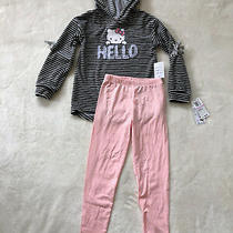Hello Kitty Little Girls' 2 Pc Hoodie Top and Leggins Size 2t Photo
