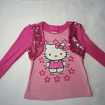 Hello Kitty Long Sleeve Top Girls Size 7 Photo