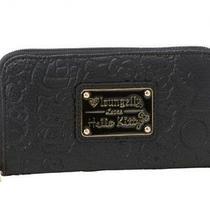 Hello Kitty Long Wallet Money Bag Coin Case Purse Black Sanrio From Japan Z0073 Photo
