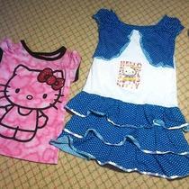 Hello Kitty Lot 3t Top Dress Photo