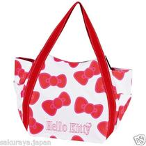 Hello Kitty Mother Big Tote Bag Handbag Purse Pouch Japan Mothers Day Gift F/s Photo