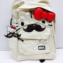 Hello Kitty Mustache Face  Backpack  Photo