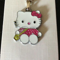Hello Kitty Necklace Sooo Cute       Bin401 Photo