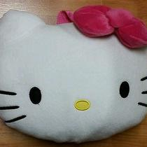 Hello Kitty Pillow Backpack With Zippered Pocket Nwt Great for Travel Photo
