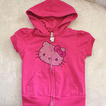 Hello Kitty Pink Hoodie 3t Girls Toddler Very Cute Photo