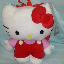 Hello Kitty Plush Backpack and Throw Set New With Tags 15