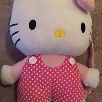 Hello Kitty Plush Book Bag Back Pack Photo