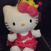 Hello Kitty Princess W/crown Plush Backpack New W/tags Macy's Photo