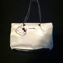 Hello Kitty Purse Tote Bag White Cream Color Euc Like New Super Cute Photo