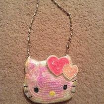 Hello Kitty Sanrio Coin Wallet Pouch Chain Wristlet 2009 Photo
