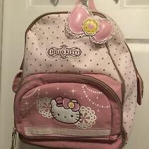 Hello Kitty Sanrio Full Size 16backpack Photo