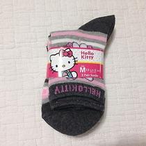 Hello Kitty Sanrio License Girls 3-Pack Girls Socks Size Medium 13.5-2.5 Photo