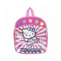 Hello Kitty Sanrio Pink & Silver Sequin Light Up Stars Mini Travel Backpack Nwt Photo