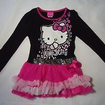 Hello Kitty Skirted Top Girls Size 7 Photo
