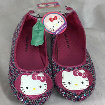 Hello Kitty Slippers. Girls Size 3. Nwt   Se5 Photo
