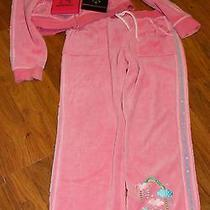 Hello Kitty Sweat Capri's & Hoodie (Pink) W/necklace & Earrings Photo